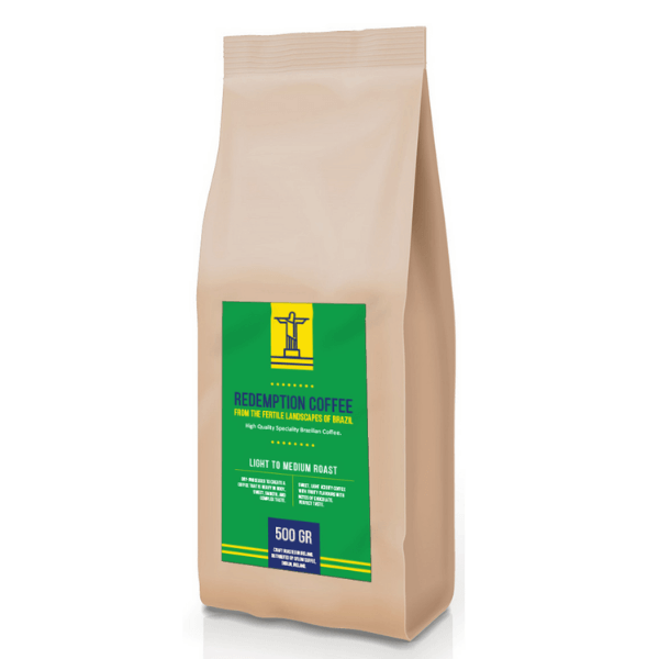 Redemption Coffee Bag Website