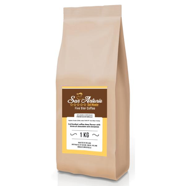 San Antonio Coffee Bag Website